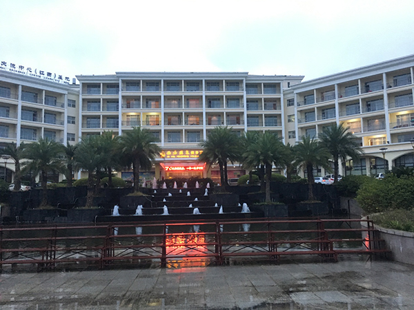 庐山西海温泉渡假村安防监控系统